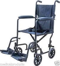 Transport Chairs Lightweight Lightweight Folding Wheelchair Ebay