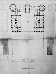 Versailles Floor Plan by The Original Plan For Louis Xiii U0027s 1634 Hunting Lodge Of