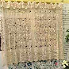 Crochet Lace Curtain Pattern 29 Best Crochet Kitchen Curtains Images On Pinterest Crochet
