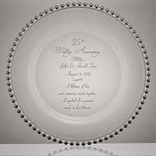 25th anniversary plates personalized 64 best wedding anniversary images on wedding