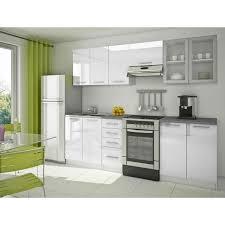cuisine equipee blanche modele cuisine equipee blanche idée de modèle de cuisine