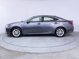 lexus hybrid for sale used 2013 lexus es 300h hybrid sedan for sale in miami fl 85253