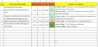 Simple Excel Project Management Template Excel Task Tracker Template Free Downloads 6 Sles Free