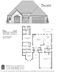 Floor Plans With Porte Cochere Plans Brent Gibson