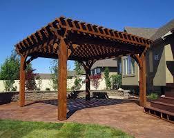 patio u0026 pergola composite pergola kits superior wood pergola