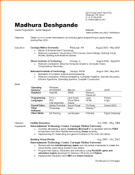 entertainment resume template resume template computer science basic computer science resume