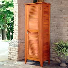 Louvered Cabinet Door Louvered Cabinet Door Image Of Astounding Outdoor Storage Cabinets