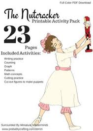nutcracker suite ballet unit review activity packet