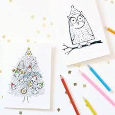 best 25 coloring christmas cards ideas on pinterest