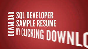 Etl Developer Resume Sql Developer Resume Cv Writing Tips Examples Youtube