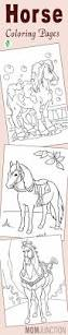 horse coloring pages free newcoloring123
