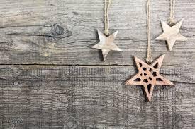 rustic christmas handmade rustic christmas on textured wooden board stock