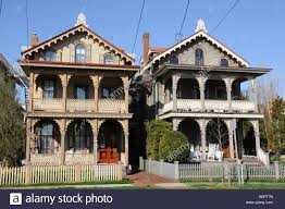 Victorian Houses by Victorian Houses Cape May New Jersey Usa Stock Photo Royalty