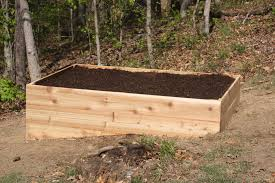 building a raised garden bed on uneven ground home outdoor