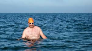 swimming the solent for aspire