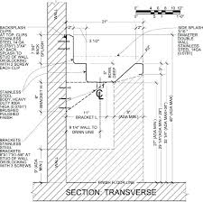 Average Depth Of Kitchen Cabinets Double Bowl Vanity Width Typical Dimensions Related Post Bathroom