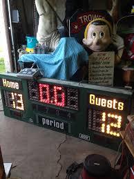 vintage nevco basketball scoreboard obnoxious antiques