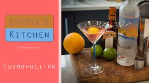 cosmopolitan cocktail how to make a cosmopolitan cocktail drinks kitchen youtube