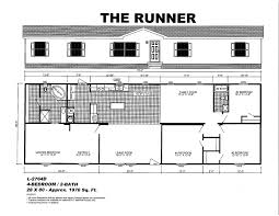 Mobile Home Floor Plans Double Wide by Oak Creek Mobile Homes Floor Plans Manufactured Home Floor Plans