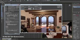 3ds max 2017 art renderer tutorial cg tutorial
