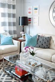 Glass Top Accent Table Coffee Table Centrepiece Ideas Mid Century Contemporary Sofas