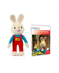 rabbit dvds harry the bunny set 2 plush and discoveries dvd dvds