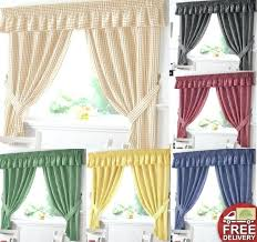 Curtains Valances Cottage Window Treatment Large Size Of Cottage Kitchen Curtains