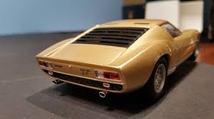 lamborghini car gold slot car 1 32 lamborghini miura gold lighting lamps new scalextric
