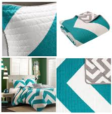 teen girls twin bedding teal blue large chevron bedding teen twin xl full queen king