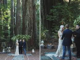 redwood forest wedding venue rustic bohemain wedding in the redwood forest cheyne