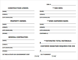 Construction Sheets Template Sle Sheet Template 7 Free Documents In Pdf