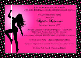 best bachelorette party invitations pole party invitations cimvitation
