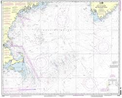 Navigation Map Noaa Nautical Chart 13009 Gulf Of Maine And Georges Bank 20 75