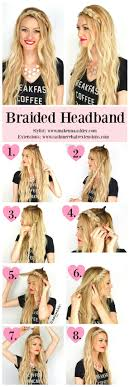braid headband braided headband tutorial hair clip in extensions