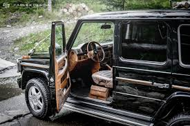 carlex touches mercedes g class more leather equals better off