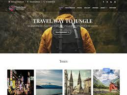 Travel Tours images Travel way pro travel tours booking premium wordpress theme jpg