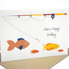 fish birthday card u2013 gangcraft net