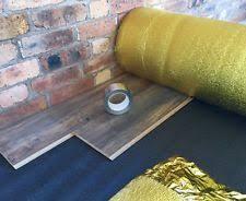 novostrat sonic gold 5mm laminate foam underlay ebay