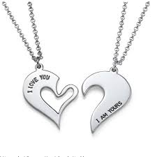 custom engraved heart necklace custom engraved collares silver necklace with name personalized