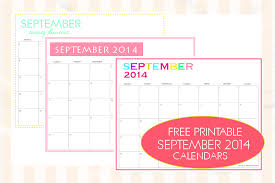 printable monthly planner september 2014 free printable september 2014 calendar