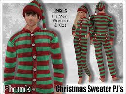 second marketplace phunk mesh sweater pjs