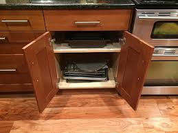 Kitchen Cabinets That Look Like Furniture A Jones For Organizing Storing Your Cookie Sheets Baking Pans