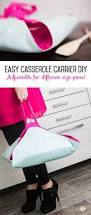 casserole carrier easy diy adjustable for different pans