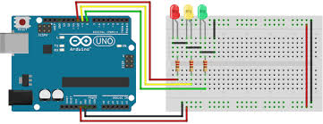 4 way traffic light using arduino arduino programming for beginners the traffic light controller