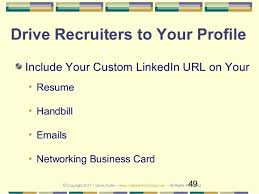 Resume Linkedin Url Tug Linkedin Presentation 2017