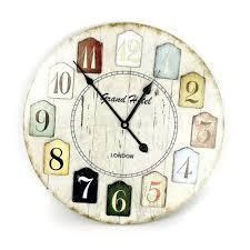 Decorative Wall Clock Outdoor Atomic Wall Clock Large Decorative Wall Clocks Uk Silver