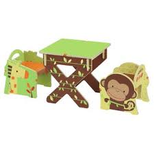 kids animal table and chairs novelty kids table chair sets you ll love wayfair