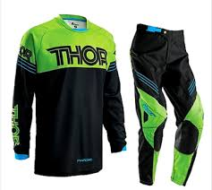 motocross pants and jersey combo thor s16 phase motocross pants jersey combo kawasaki green black