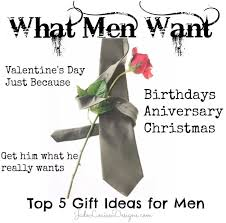 what men want top 5 gift ideas for him get him what he really