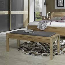 Schlafzimmer Holz Eiche Ankleidebank Darand Aus Eiche Massivholz Pharao24 De